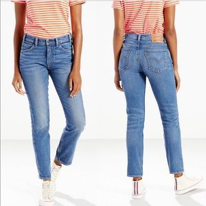 Levi's 505 C Cropped Jeans